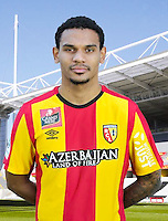 Kenny LALA - 30.10.2015 - Portrait Officiel - Lens<br /> Photo : RC Lens / Icon Sport