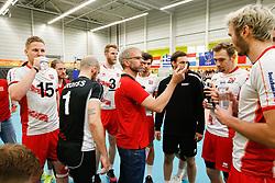 20170525 NED: 2018 FIVB Volleyball World Championship qualification, Koog aan de Zaan<br />Michael Warm, headcoach of Austria <br />©2017-FotoHoogendoorn.nl / Pim Waslander