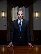 Lanny A. Breuer, Assistant Attorney General for the Criminal Division of the Department of Justice, poses for a portrait in Washington, DC, on Wednesday, March 2, 2011.