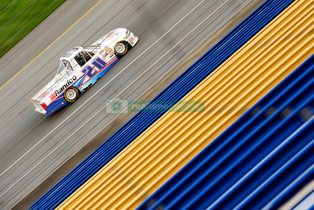July 12, 2018 - Sparta, KY, U.S. - SPARTA, KY - JULY 12: Tate Fogleman (20) Overkill Motorsports Chevrolet Silverado works his way down the front stretch during the NASCAR Camping World Truck Series Buckle Up In Your Truck 225 on July 12th, 2018, at Kentucky Speedway in Sparta, Kentucky. (Photo by Michael Allio/Icon Sportswire) (Credit Image: © Michael Allio/Icon SMI via ZUMA Press)