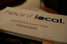 Hear it Local SF Launch Party - August 18, 2010