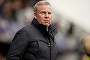 Portsmouth manager Kenny Jackett during the EFL Sky Bet League 1 match between Portsmouth and Bradford City at Fratton Park, Portsmouth, England on 2 March 2019.