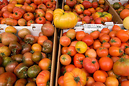 Salinas Valley Heirloom Tomatoes, Old Monterey Farmers Market, California