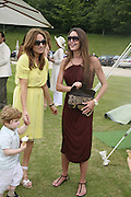 THEO TURNER, EMILY OPPENHEIM-TURNER AND TAMARA MELLON, Guy Leymarie and Tara Getty host The De Beers Cricket Match. The Lashings Team versus the Old English team. Wormsley. ONE TIME USE ONLY - DO NOT ARCHIVE  © Copyright Photograph by Dafydd Jones 66 Stockwell Park Rd. London SW9 0DA Tel 020 7733 0108 www.dafjones.com