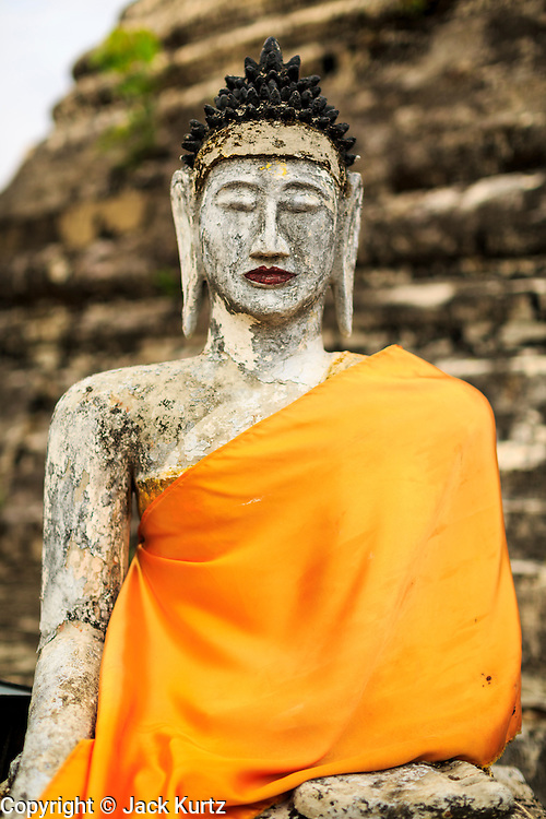24 MAY 2013 - MAE SOT, THAILAND:   A Buddha statue at a temple north of Mae Sot, Thailand.  PHOTO BY JACK KURTZ