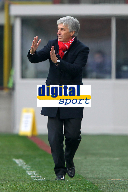 """Giampiero Gasperini Palermo.Milano 02/12/2012 Stadio """"San Siro"""".Football Calcio Serie A 2012/13.Inter v Palermo.Foto Insidefoto Paolo Nucci."""
