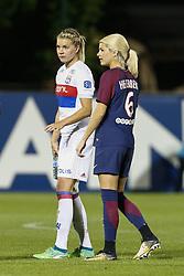 May 18, 2018 - Saint Germain En Laye, France - Andrine Hegerberg (PSG ) et Ada Hegerberg (OL) soeur (Credit Image: © Panoramic via ZUMA Press)