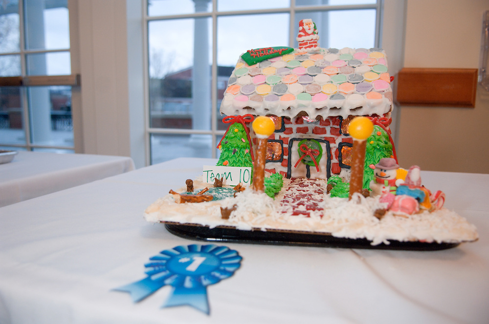 The Baker Food Court is hosting a Gingerbread Competition...First place winner, best of show