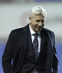 Crystal Palace Manager Alan Pardew arrives at The Madejski Stadium - Mandatory byline: Robbie Stephenson/JMP - 11/03/2016 - FOOTBALL - Madejski Stadium - Reading, England - Reading v Crystal Palace - Emirates FA Cup Quarter Final