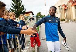 Ovbokha Agboyi of Bravo after the football match between NK Bravo and NK Celje in 13th Round of Prva liga Telekom Slovenije 2019/20, on October 5, 2019 in ZAK stadium, Ljubljana, Slovenia. Photo by Vid Ponikvar / Sportida