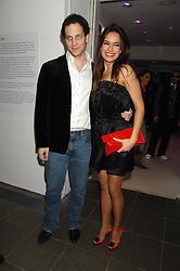 LORD FREDERICK WINDSOR and SOPHIE WINKLEMAN at a party to celebrate the launch of DKNY's new fragrance for women Delicious, held at The Serpentine Gallery, Kensington gardens, London on 12th December 2007.<br /><br />NON EXCLUSIVE - WORLD RIGHTS