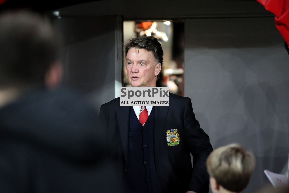 Louis Van Gaal During Bournemouth vs Manchester United on Saturday the 12th December 2015.