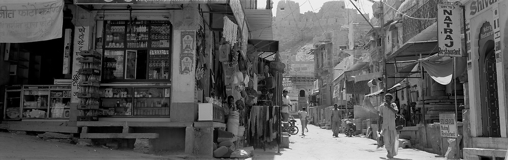Street scene though old city, Jaiselmer Oasis