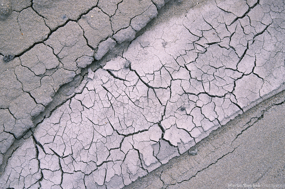 Cracks in the mud, Petrified Forest National Park, Arizona