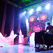WASHINGTON, DC - July 9th, 2011 - Geologist and Deakin Animal Collective perform at Merriweather Post Pavilion in Columbia, MD. The band named their eighth studio album after the venue.  (Photo by Kyle Gustafson/For The Washington Post)