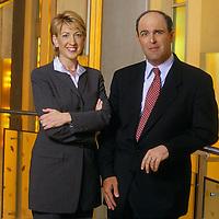 Carly Fiorina and Michael Capellas.