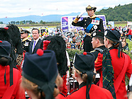 Princess Anne & David Cameron At Armed Forces Event