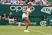 Watson (GBR) Vs Cornet (FRA) Action at the Nature Valley International 2019 at Devonshire Park, Eastbourne, United Kingdom on 23rd June 2019. Picture by Jonathan Dunville