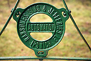 Ransomes, Sims and Jefferies old Automaton sign manufactured in Ipswich