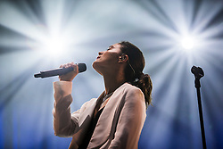 Jessie Ware perform at the King Tuts Wah Wah Tent, at T in the Park 2015, at Strathallan Castle, Friday, 10th July 2015, First day at T in the Park 2015, at its new home at Strathallan Castle.