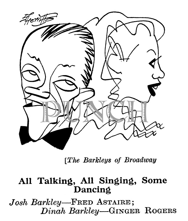 The Barkleys of Broadway ; Fred Astaire and Ginger Rogers