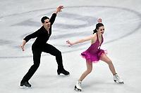 Anna CAPPELLINI, Luca LANOTTE Italy <br /> Ice Dance Short Dance <br /> Milano 23/03/2018 Assago Forum <br /> Milano 2018 - ISU World Figure Skating Championships <br /> Foto Andrea Staccioli / Insidefoto