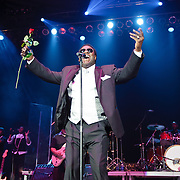 WASHINGTON, D.C. - MARCH 13:  R & B legend Al Green performs at D.A.R. Constitution Hall.  The concert was originally scheduled on Valentine's Day in February but had to be postponed due to the snowpocalypse. (Photo by Kyle Gustafson)