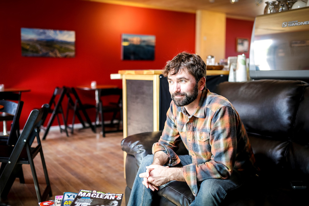 Micah Quinn says his vision for the newly opened Watershed Coffee Shop and Bar isn't to churn people through the doors, but to engage with residents.