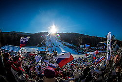 Supporters during 6th Ladies' Giant slalom at 53rd Golden Fox - Maribor of Audi FIS Ski World Cup 2015/16, on January 7, 2017 in Pohorje, Maribor, Slovenia. Photo by Vid Ponikvar / Sportida
