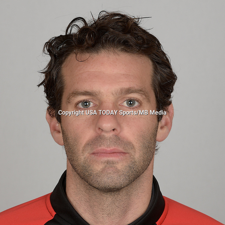 Feb 25, 2016; USA; D.C. United player Ben Olsen poses for a photo. Mandatory Credit: USA TODAY Sports
