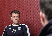 Dundee midfielder Paul McGowan previews the visit of Ross County to Dens Park<br /> <br />  - &copy; David Young - www.davidyoungphoto.co.uk - email: davidyoungphoto@gmail.com