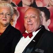 NLD/Scheveningen/20130909 -  Filmpremiere Smoorverliefd, Bas van Toor en partner Coby