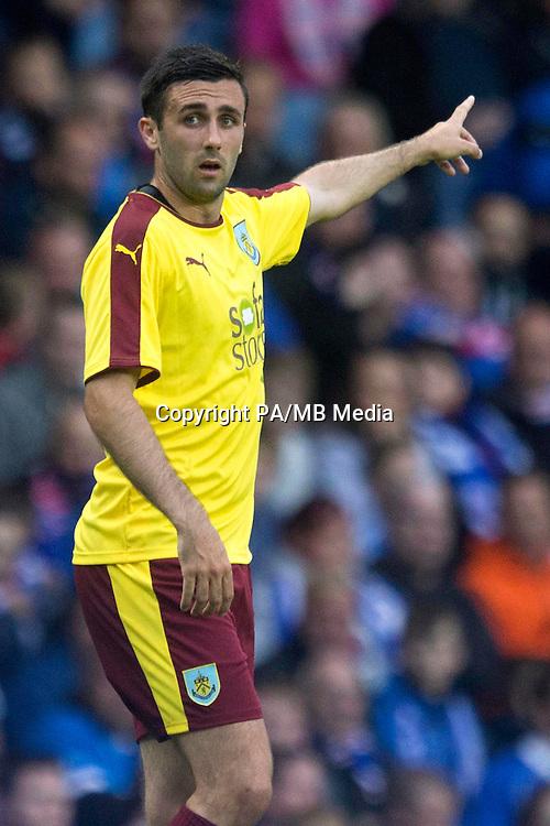 Burnley Daniel Lafferty during the pre-season friendly match at the Ibrox Stadium, Glasgow.