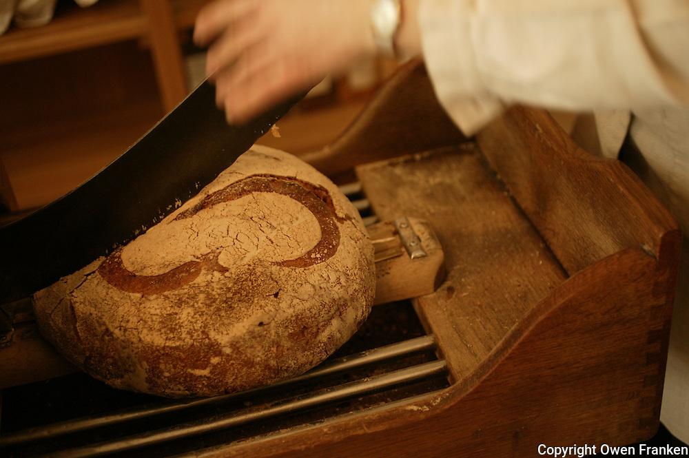 Poilane Bakery, Paris<br /> <br /> in 2004 the Poilane leavened bread