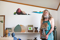 coromandel peninsula artist pottery studio kuaotunu photography by felicity jean photography men not mining calendar shoot