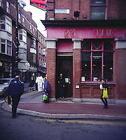 The International Bar at the corner of Wicklow Street in Dublin Ireland