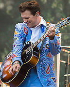 October 4, 2014<br /> CHRIS ISAAK performs at the Hardly Strictly Bluegrass Festival in Golden Gate Park, San Francisco, California, on Saturday, October 4, 2014. The annual festival, a free event, runs through Sunday, October 5, 2014. <br /> <br /> Hardly Strictly Bluegrass, conceived and subsidized by San Francisco venture capitalist Warren Hellman, has been held every year since the first event in 2001.