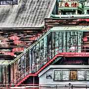 An abandoned building sitting seaside in downtown Boston makes for a great HDR image. Photo by Jennifer Rondinelli Reilly.