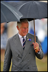 HRH The Prince Of Wales and The Duchess of Cornwall tour round the Sandringham Flower Show<br /> Sandringham, Norfolk, United Kingdom<br /> Wednesday, 31st July 2013<br /> Picture by Andrew Parsons / i-Images