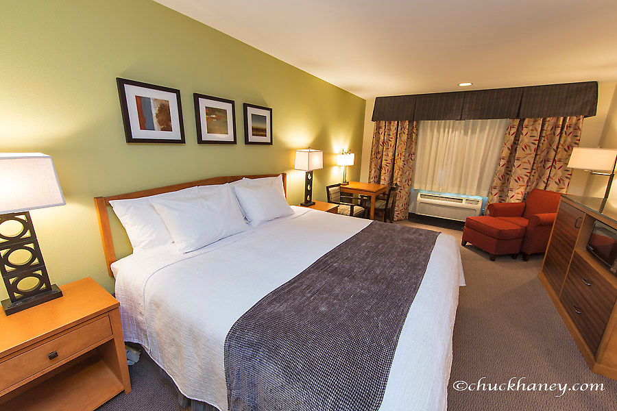 Photo shoot for Best Western Motel in Whitefish, Montana