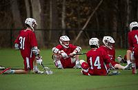 St Paul's School boys varsity Lacrosse with Tilton School. ©2018 Karen Bobotas Photographer