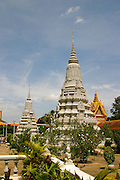 Stupa of King Suramarit, Royal Palace, Phnom Penh, Cambodia