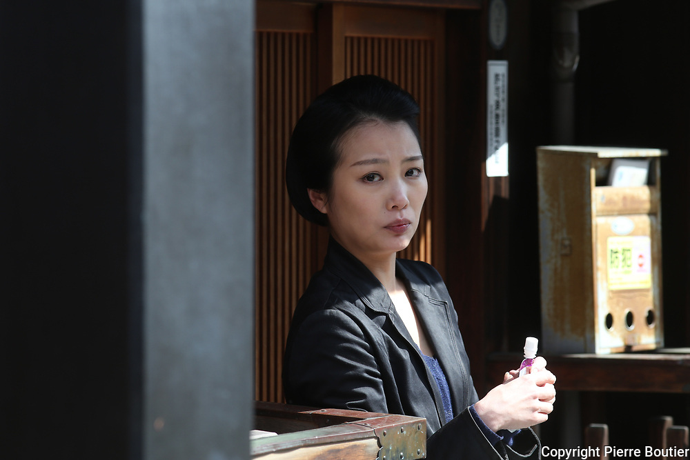 Kyoto 2018,Gion district à Maiko waiting at Ryokan before going to work.Pierre Boutier
