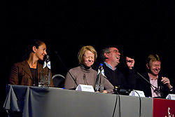 Panel discussion with Inga Wolframm<br /> Global Dressage Forum<br /> Academy Bartels - Hooge Mierden 2011<br /> © Dirk Caremans