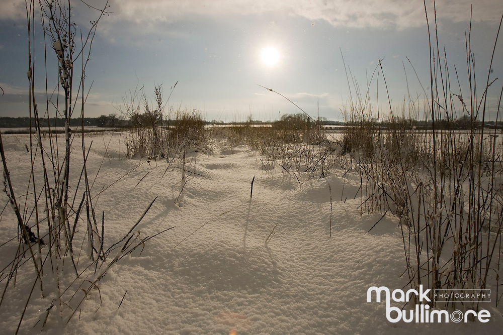 Photo: © Mark Bullimore..Winter Weather in the UK, Norfolk...07/01/2010
