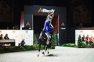 Angelique Van Der Sluijs, Jeanine Van Der Sluijs, (CAN), Ilph Islay, Liz Mackay - Pas de Deux Vaulting - Alltech FEI World Equestrian Games&trade; 2014 - Normandy, France.<br /> &copy; Hippo Foto Team - Jon Stroud<br /> 04/09/2014