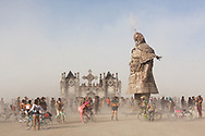 Desert Guard by: Lu Ming from: Beijing, China year: 2018 My Burning Man 2018 Photos:<br />