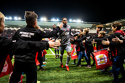 Anthony Martial of Manchester United comes in from the warmup - Rogan/JMP - 20/12/2017 - Ashton Gate Stadium - Bristol, England - Bristol City v Manchester United - Carabao Cup Quarter Final.