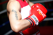 6/24/11 2:58:15 PM -- Colorado Springs, CO. -- A portrait of U.S. Olympic lightweight boxer Queen Underwood, 27, of Seattle, Wash. who will be competing for her fifth title. She began boxing in 2003 and was the 2009 Continental Champion and the 2010 USA Boxing National Champion. She is considered a likely favorite to medal at the 2012 Summer Olympics in London as women's boxing makes its debut as an Olympic sport. -- ...Photo by Marc Piscotty, Freelance.