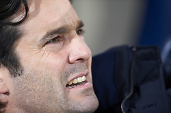 January 3, 2019 - Villarreal, Castellon, Spain - Solari of Real Madrid during the week 17 of La Liga match between Villarreal CF and Real Madrid at Ceramica Stadium in Villarreal, Spain on January 3 2019. (Credit Image: © Jose Breton/NurPhoto via ZUMA Press)